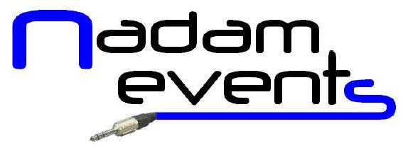 Nadam Events - Professional Production equipment and technical services. PA systems, Lighting, Stage hire, Outdoor Movies and Projector 